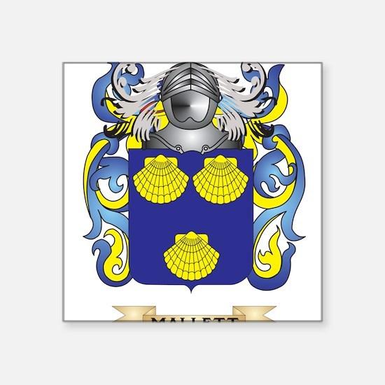 Mallett Coat of Arms - Family Crest Sticker