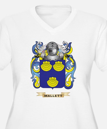 Mallett Coat of Arms - Family Crest Plus Size T-Sh