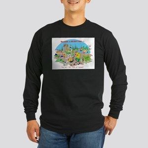 DO NOT TRY THIS AT HOME Long Sleeve Dark T-Shirt