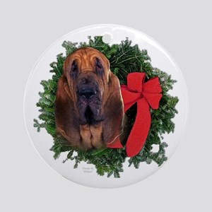 Blood Hound Keepsake/Ornament (Round)