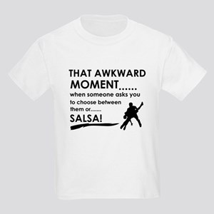 Awkward moment salsa designs Kids Light T-Shirt
