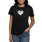 Didgeridoo Heart Women's Dark T-Shirt