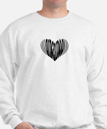 Didgeridoo Heart Sweatshirt