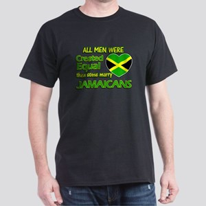 Jamaican wife designs Dark T-Shirt