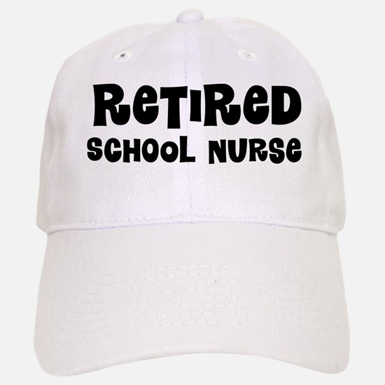 Retired School Nurse Baseball Baseball Baseball Cap