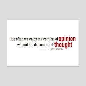 John F. Kennedy Quote Mini Poster Print