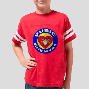 pubenemy-1 Youth Football Shirt