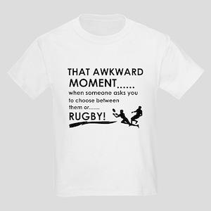 Awkward moment rugby designs Kids Light T-Shirt