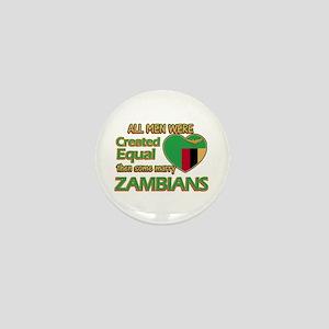 Zambian wife designs Mini Button