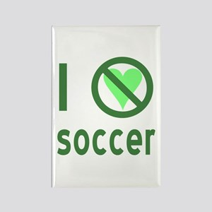 I Hate Soccer Rectangle Magnet