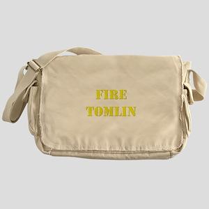 Fire Tomlin Outline Messenger Bag