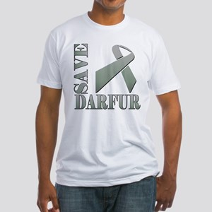 Save Darfur Fitted T-Shirt