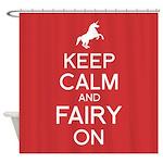 Fairy On Shower Curtain