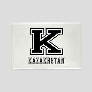 Kazakhstan Designs Rectangle Magnet