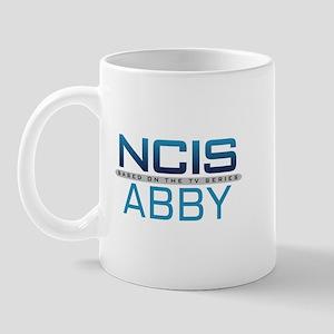 NCIS Logo Abby Left Mug