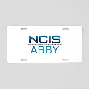 NCIS Logo Abby Aluminum License Plate
