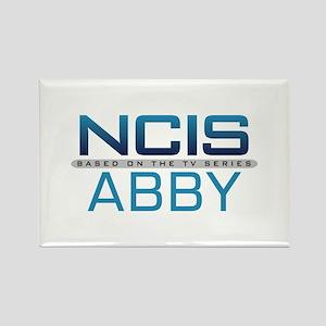 NCIS Logo Abby Rectangle Magnet