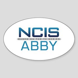 NCIS Logo Abby Sticker (Oval)