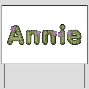 Annie Spring Green Yard Sign