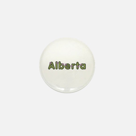Alberta Spring Green Mini Button