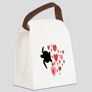 LOVELY ONES Canvas Lunch Bag