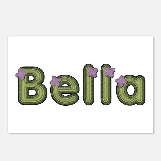 Bella Spring Green Postcards 8 Pack