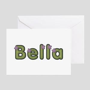 Bella Spring Green Greeting Card