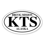 Brevig Mission Oval Sticker