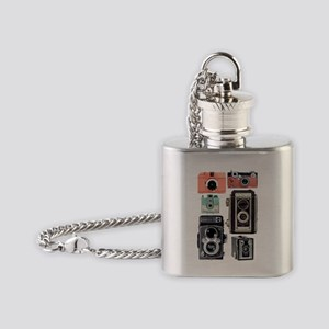 vintage cameras Flask Necklace