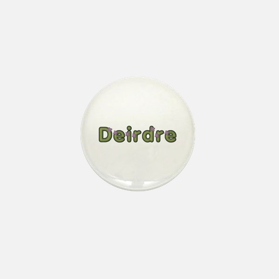Deirdre Spring Green Mini Button