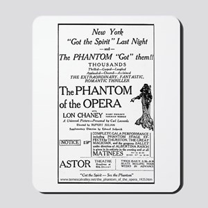 Astor Theatre Ad Mousepad