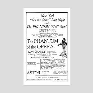Astor Theatre Ad Rectangle Sticker
