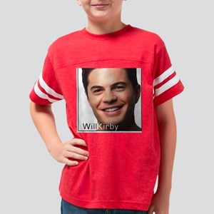 Will Kirby Portrait Youth Football Shirt