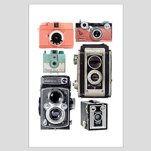 vintage cameras Posters