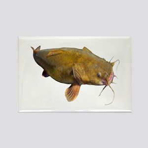 Big Flathead Catfish Rectangle Magnet