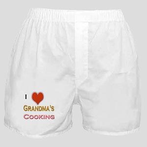 I Love Grandma's Cooking Boxer Shorts