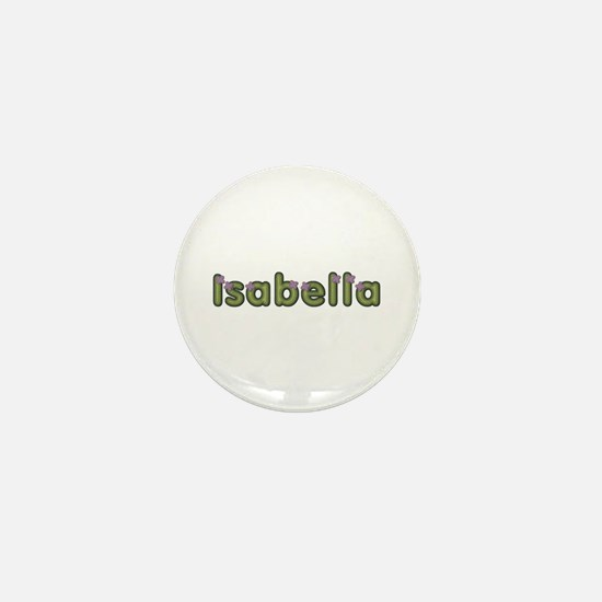 Isabella Spring Green Mini Button