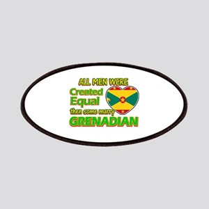 Grenadian wife designs Patches