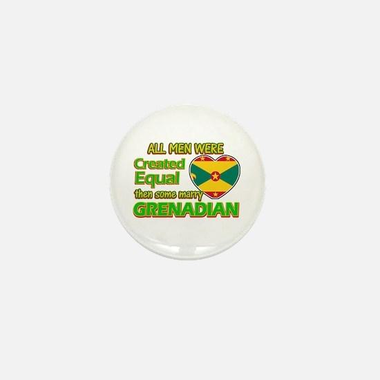 Grenadian wife designs Mini Button
