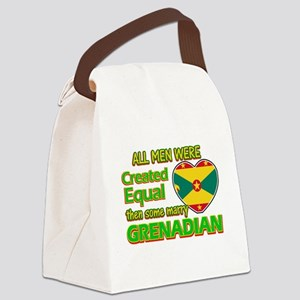 Grenadian wife designs Canvas Lunch Bag