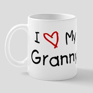 I Love My Granny Mug