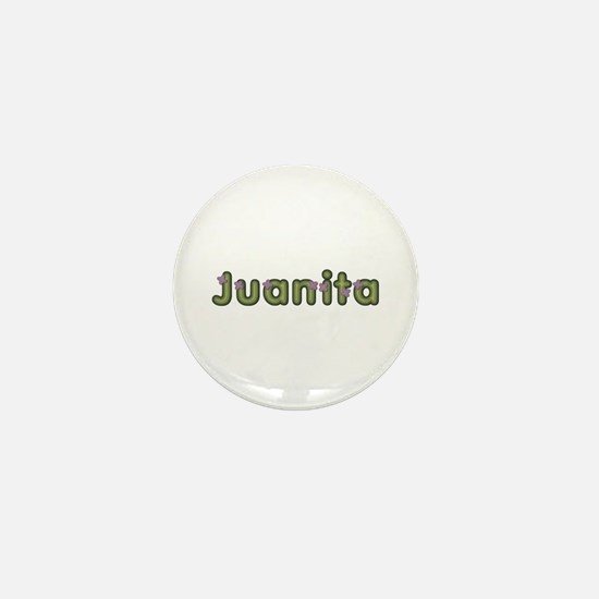 Juanita Spring Green Mini Button