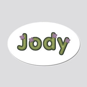 Jody Spring Green 20x12 Oval Wall Decal