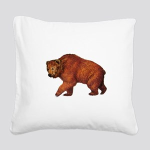 TRUE TO ROAM Square Canvas Pillow