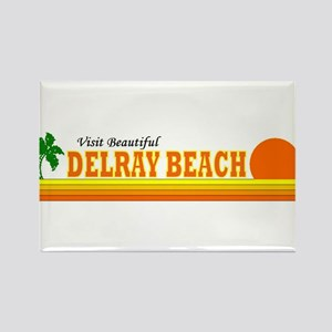 Visit Beautiful Delray Beach, Rectangle Magnet