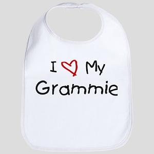 I Love My Grammie Bib