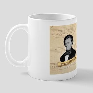 Franz Schubert Historical Mug