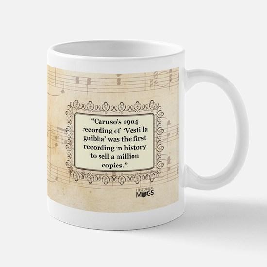 Enrico Caruso Historical Mug