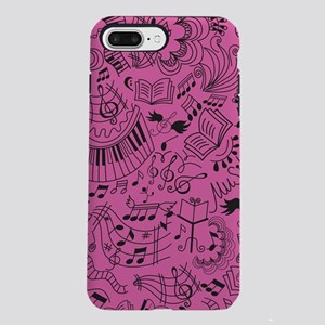 Music Doodle Gift iPhone 7 Plus Tough Case