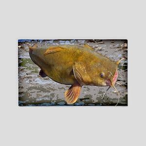 Big Flathead Catfish 3'x5' Area Rug